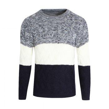 Young Men'S Casual Lounge Sweaters - CERULEAN CERULEAN