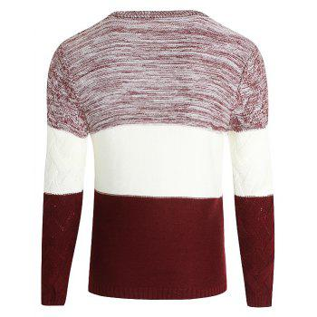 Young Men'S Casual Lounge Sweaters - RED L
