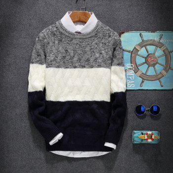 Young Men'S Casual Lounge Sweaters - CERULEAN XL