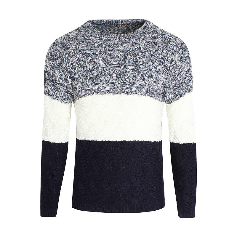Young Men'S Casual Lounge Sweaters - CERULEAN M