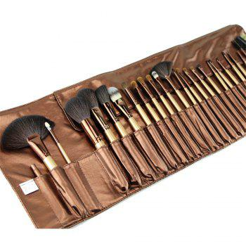 XinYiZhui 26PCS Professional Animal Hair Makeup Brush - GOLDEN GOLDEN