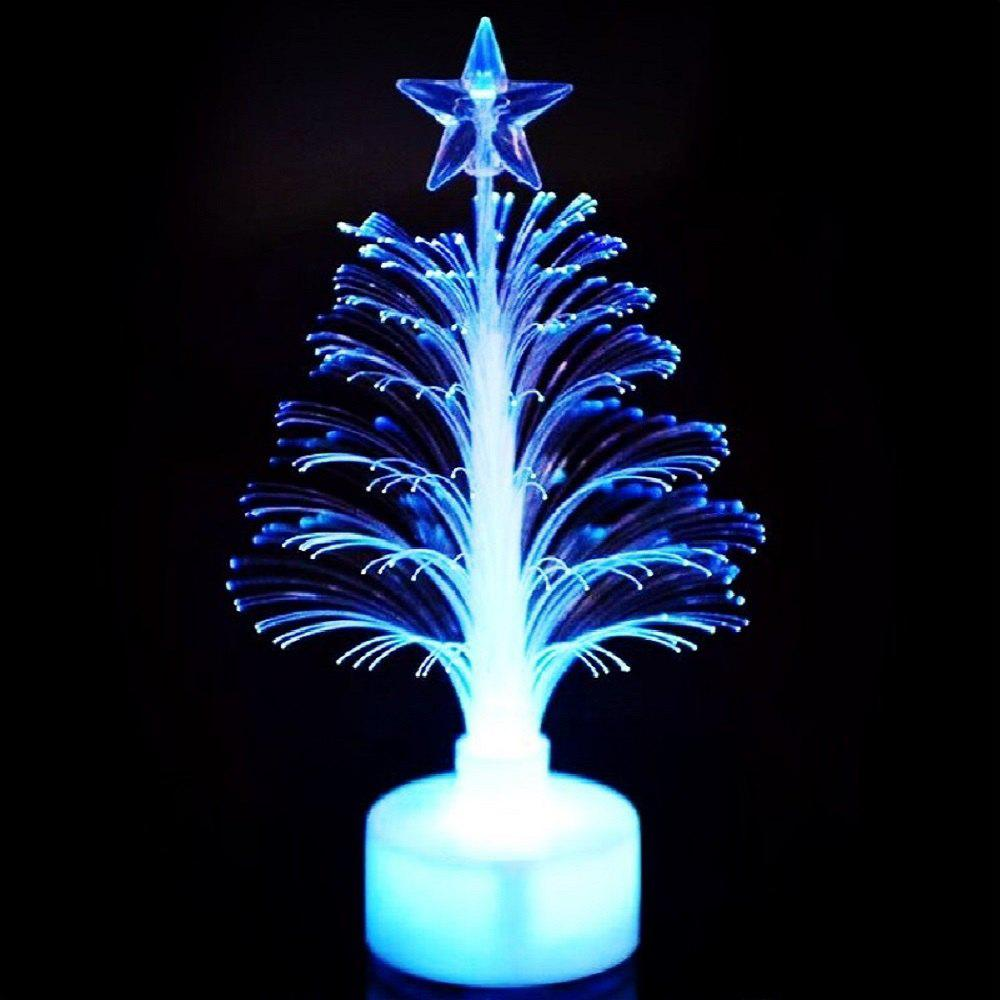 Fiber Optic Christmas Tree Mini LED Christmas Tree - multicolorCOLOR