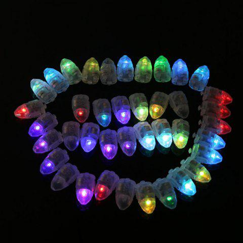 10pcs LED rougeoyante ampoules Set ballon décoratif Mini ampoules - coloré
