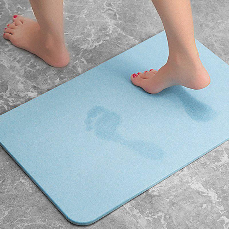 2018 Bathroom Floor Mat Solid Color Quick Water Absorbent Soft