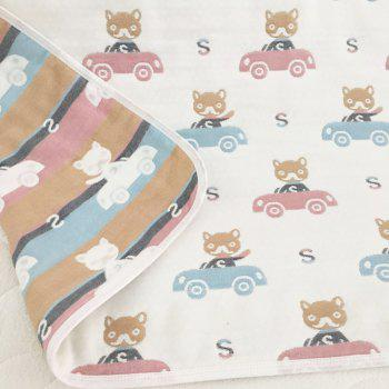 100 Percent Muslin Cotton Baby Gauze Swaddle Baby Receiving Blanket - CAT ONE SIZE