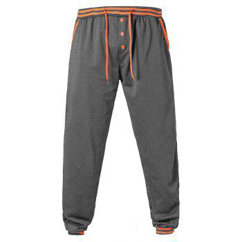 Men'S Trousers  Large Size Casual Pants - DARK GRAY 2XL