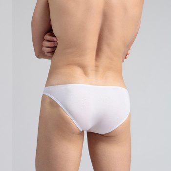 Recycled Fiber Men's Underwear Sex Appeal - WHITE XL