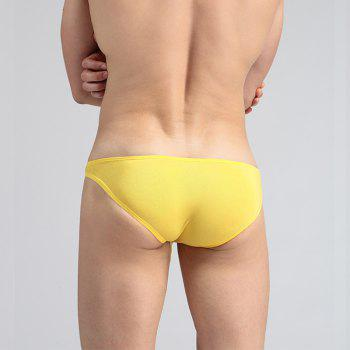 Recycled Fiber Men's Underwear Sex Appeal - YELLOW S