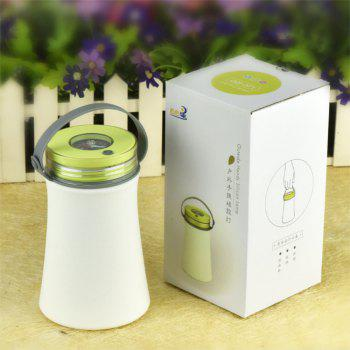 Portable Silicone Night Lamp Charging Receiving LED Multi Function Outdoor Camping Compass -  GREEN