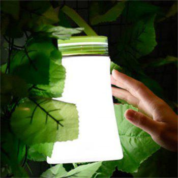 Portable Silicone Night Lamp Charging Receiving LED Multi Function Outdoor Camping Compass - GREEN GREEN