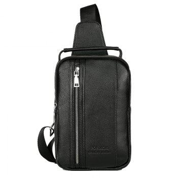 Men Chest Pack Single Shoulder Strap Back