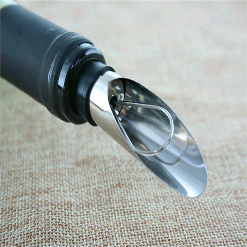 Stainless steel wine pourer wine cork stopper