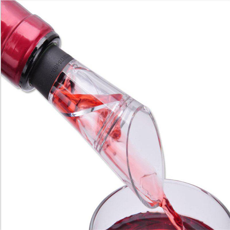 The new spiral decanter wine pourer
