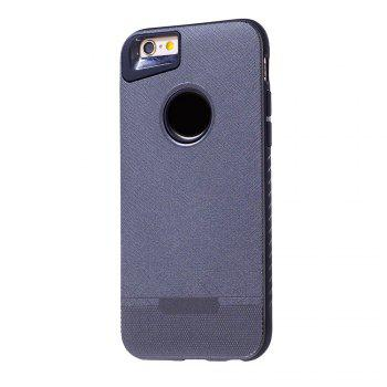 Cloth Painting 2 In 1 Soft Protector Phone Case for iPhone 6 Plus - GRAY GRAY
