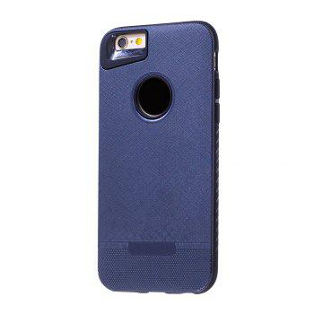 Cloth Painting 2 In 1 Soft Protector Phone Case for iPhone 6 Plus - DEEP BLUE DEEP BLUE