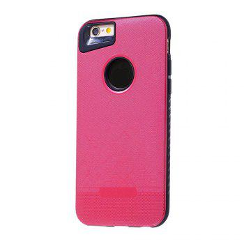 Cloth Painting 2 In 1 Soft Protector Phone Case for iPhone 6 Plus - RED RED