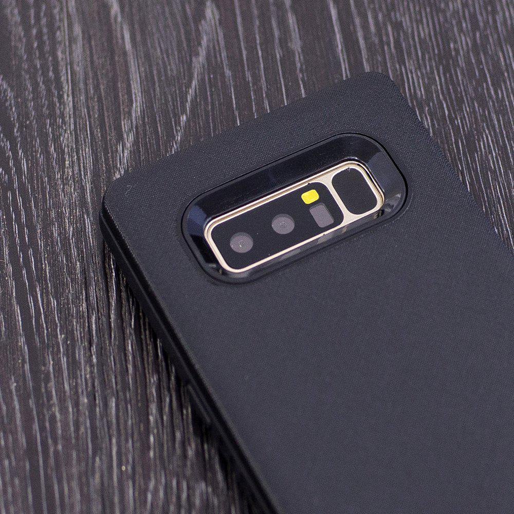 Cloth Painting 2 In 1 Soft Protector Phone Case for Samsung Galaxy Note 8 - BLACK
