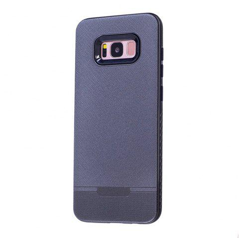 Cloth Painting 2 In 1 Soft Protector Phone Case for Samsung Galaxy S8 - GRAY
