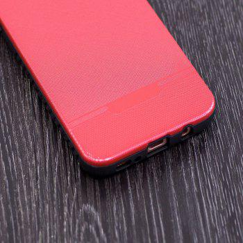 Cloth Painting 2 In 1 Soft Protector Phone Case for Samsung Galaxy S8 -  RED