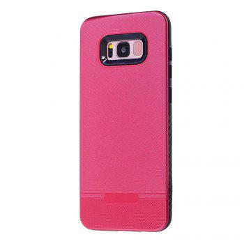 Cloth Painting 2 In 1 Soft Protector Phone Case for Samsung Galaxy S8 - RED RED