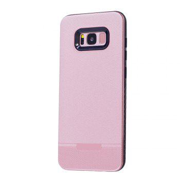 Cloth Painting 2 In 1 Soft Protector Phone Case for Samsung Galaxy S8 - PINK PINK