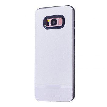 Cloth Painting 2 In 1 Soft Protector Phone Case for Samsung Galaxy S8 - WHITE WHITE