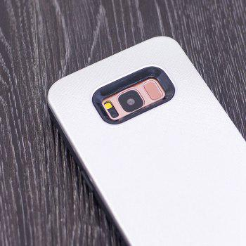 Cloth Painting 2 In 1 Soft Protector Phone Case for Samsung Galaxy S8 - WHITE