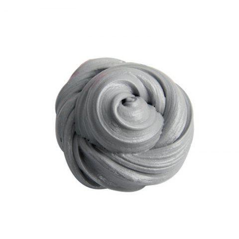 Colorful Soft Scented Stress Relief Sludge Kids Toy Creative - SILVER