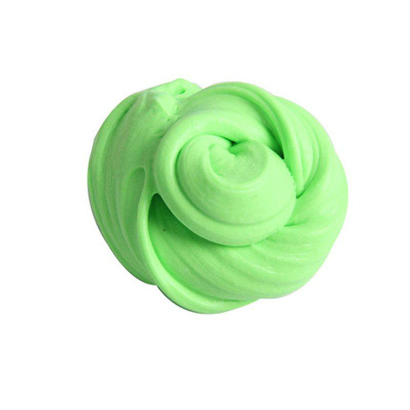 Colorful Soft Scented Stress Relief Sludge Kids Toy Creative - LIGHT GREEN