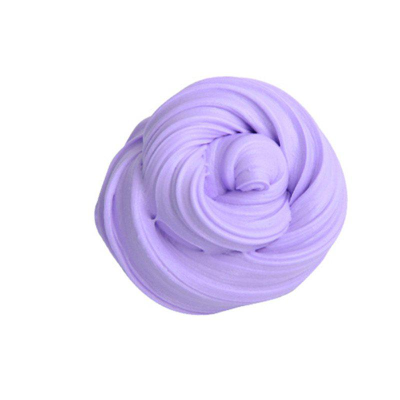 Colorful Soft Scented Stress Relief Sludge Kids Toy Creative - PURPLE