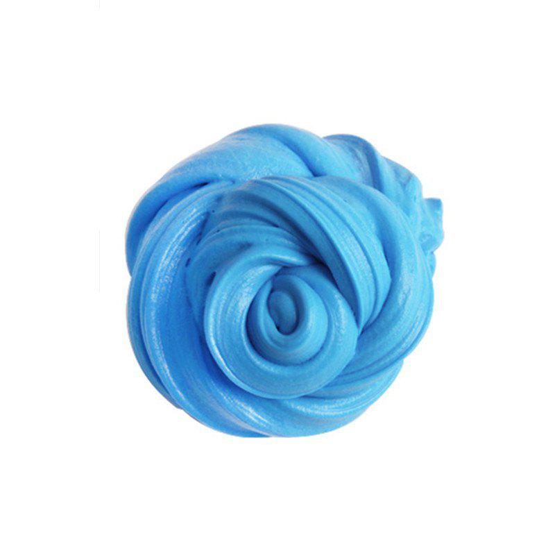 Colorful Soft Scented Stress Relief Sludge Kids Toy Creative - LIGHT BULE