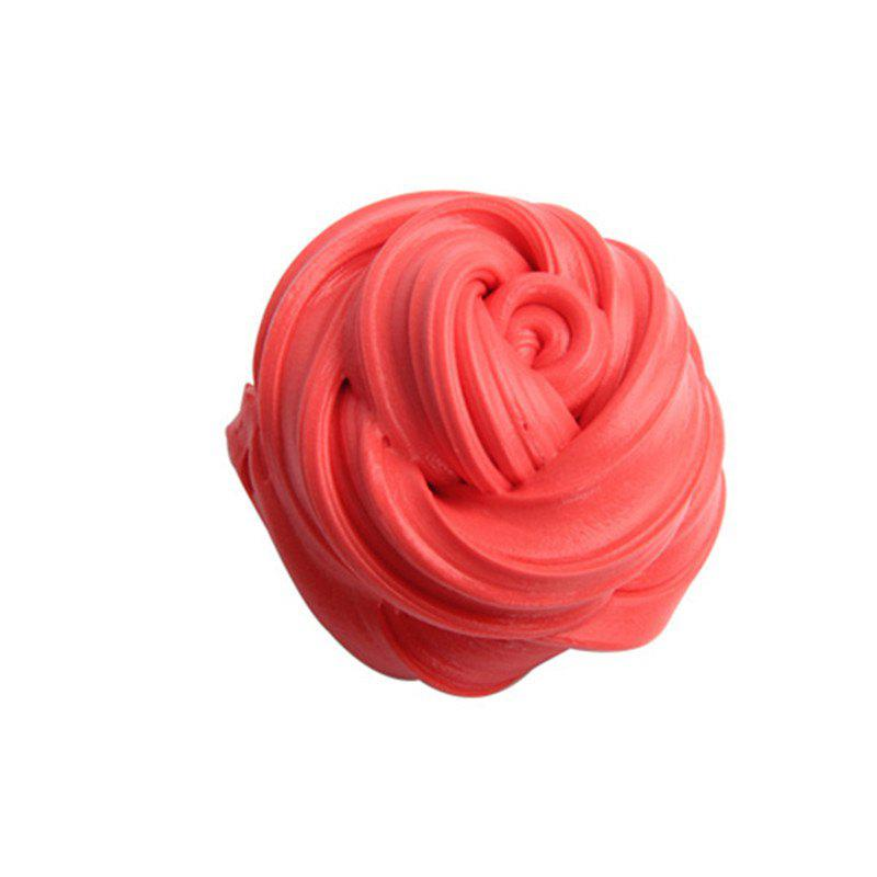 Colorful Soft Scented Stress Relief Sludge Kids Toy Creative - RED