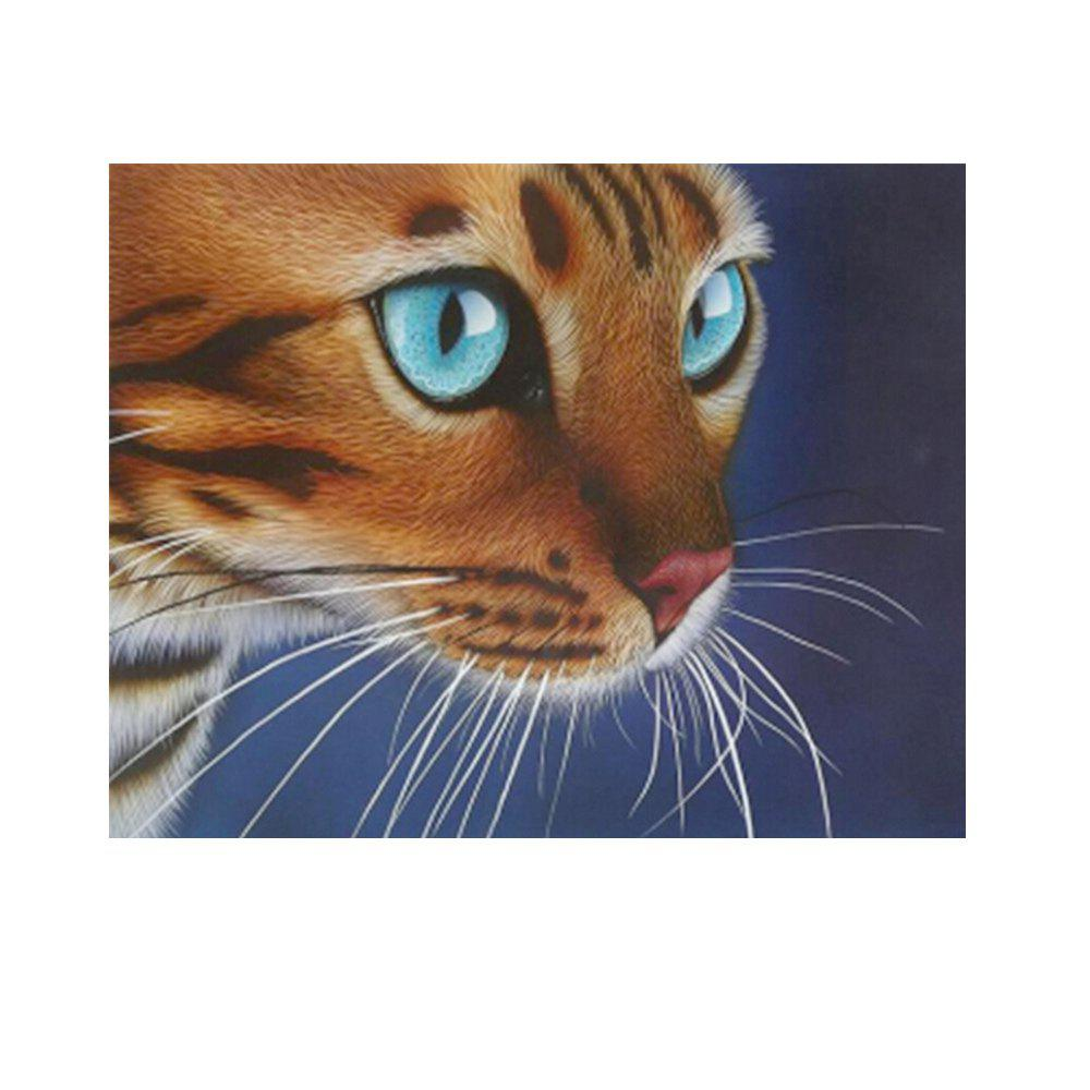 Naiyue 7077 Red Cat Print Draw Diamond Drawing - COLORMIX