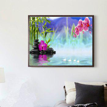 Naiyue 7085 Fantasy Lake Color Print Draw Diamond Drawing -  COLORMIX
