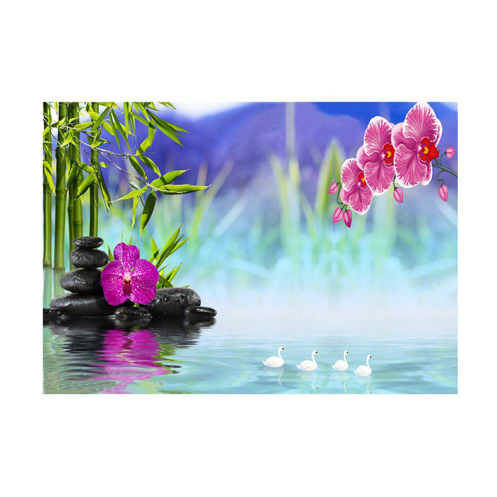 Naiyue 7085 Fantasy Lake impression couleur tirage au sort dessin au diamant - multicolorcolore