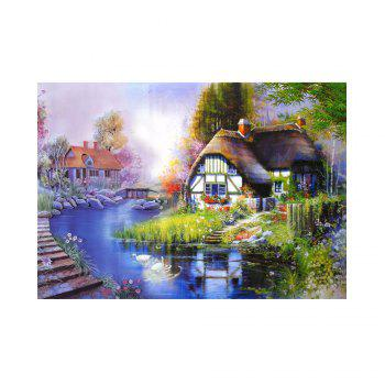 Naiyue 7110 The Cabin Print Draw Diamond Drawing - COLORMIX COLORMIX