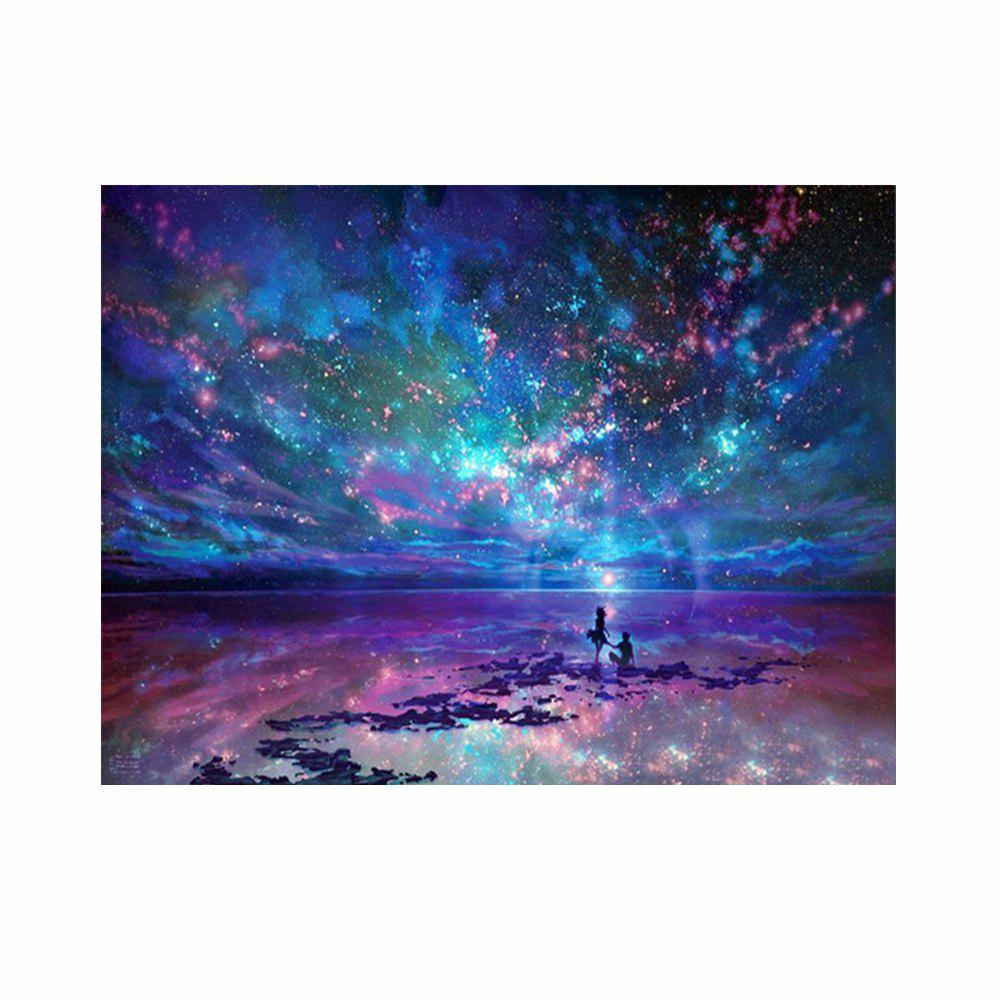 Naiyue 9497 Night Sky Print Draw Diamond Drawing - COLORMIX