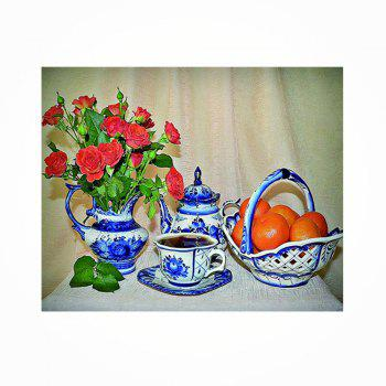 Naiyue 9809 Flowers and Fruits Print Draw Diamond Drawing - COLORMIX COLORMIX