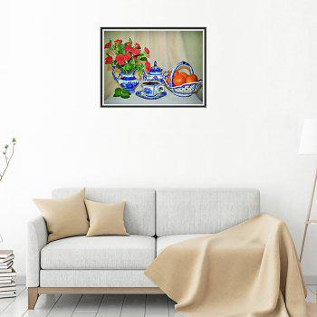Naiyue 9809 Flowers and Fruits Print Draw Diamond Drawing - COLORMIX