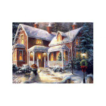 Naiyue 7132 Forest Villa Print Draw Diamond Drawing - COLORMIX COLORMIX