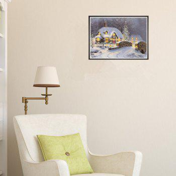 Naiyue 7133 The Night Is Snow Print Draw Diamond Drawing - COLORMIX
