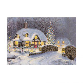 Naiyue 7133 The Night Is Snow Print Draw Diamond Drawing - COLORMIX COLORMIX