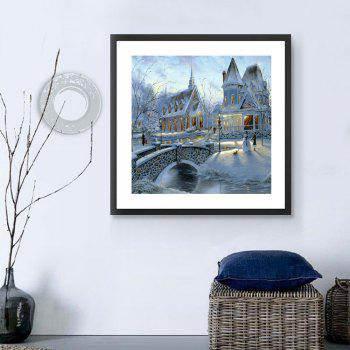 Naiyue 7135 Snow Area Fort Print Draw Diamond Drawing - COLORMIX