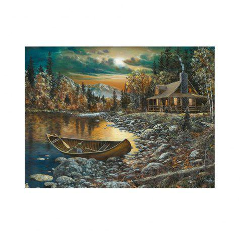 Naiyue 7138In The Mountains The Somebody Else Print Draw Diamond Drawing - COLORMIX