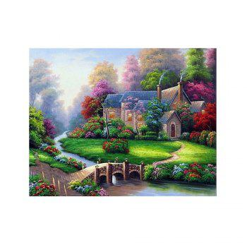 Naiyue 7139 Forest Cabin Print Draw Diamond Drawing - COLORMIX COLORMIX