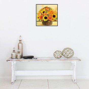 Naiyue 7144 Sunflower Flowers Print Draw Diamond Drawing - COLORMIX