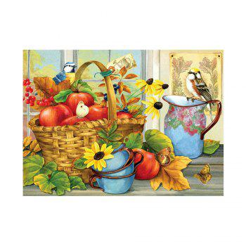 Naiyue 7145 Flower Basket Flower Print Draw Diamond Drawing - COLORMIX COLORMIX