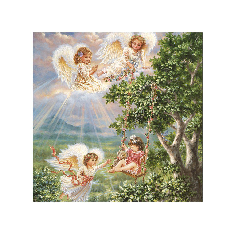Naiyue 7160 Little Angel Print Draw Diamond Drawing - COLORMIX