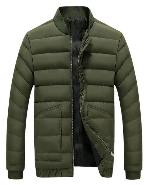 2017 Men's Handsome And Slim Clothes - ARMYGREEN XL