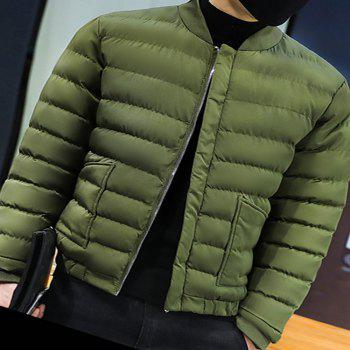 2017 Men's Handsome And Slim Clothes - ARMYGREEN L